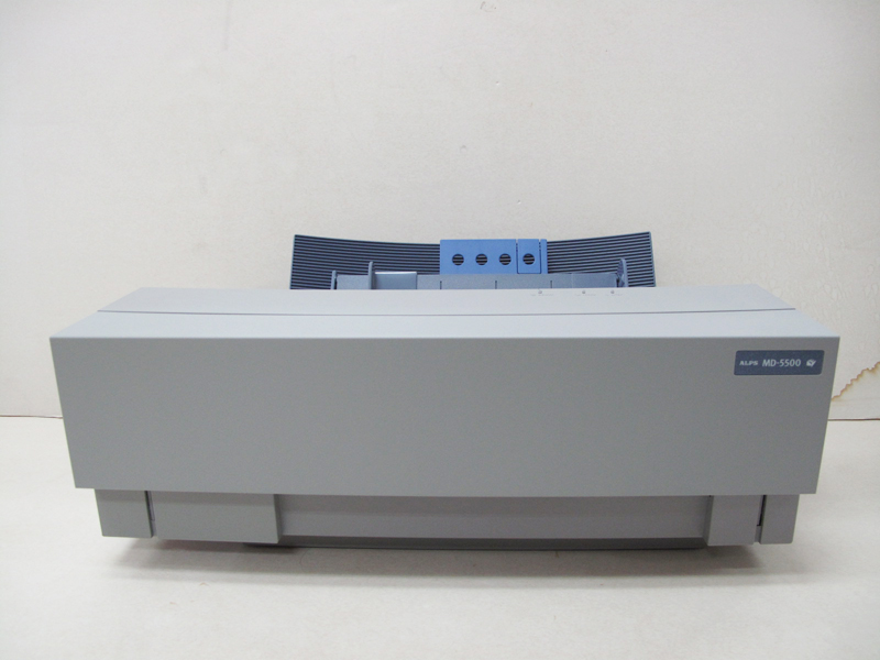 NEW IN BOX ALPS MD-5500 Thermal Printer with English Windows 98/XP Driver  A00B6AA0007H