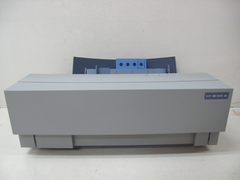 Low Band Count Refurbished ALPS MD-5500 Thermal Printer with English Windows Driver A00B80D0120H