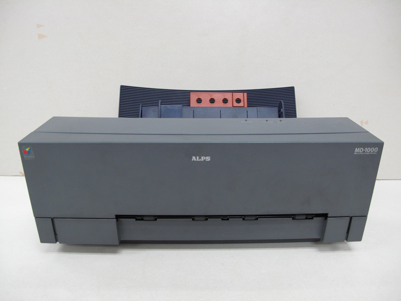 Refurnbished ALPS MD-1000 MD 1000 Thermal Water Decal Sticker Printer J67A0486M bandcount 24390