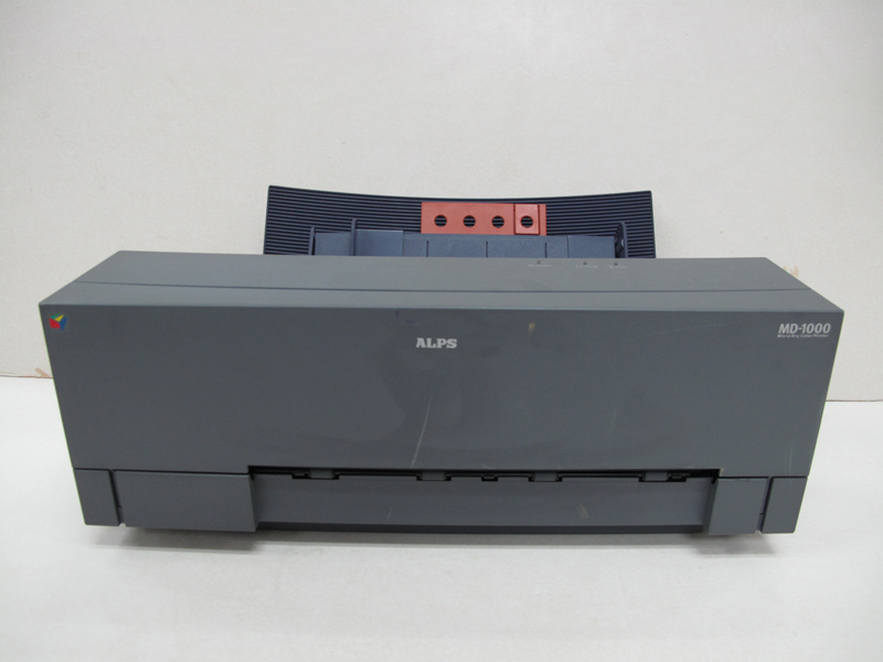 Refurnbished ALPS MD-1000 MD 1000 Thermal Water Decal Sticker Printer J77D0012H bandcount 28480