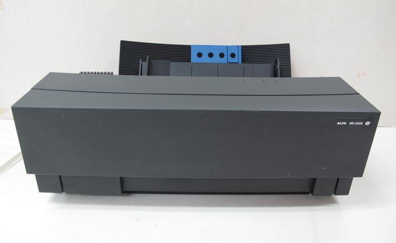 Low Band Count Alps MD5000 Thermal Printer with English Windows 98/XP Driver JX8C0596H 18579