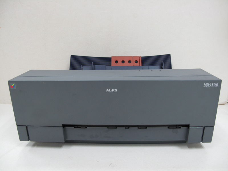 Refurnbished ALPS MD-1500 MD 1500 Thermal Water Decal Sticker Printer JY8C0129H band count 62823