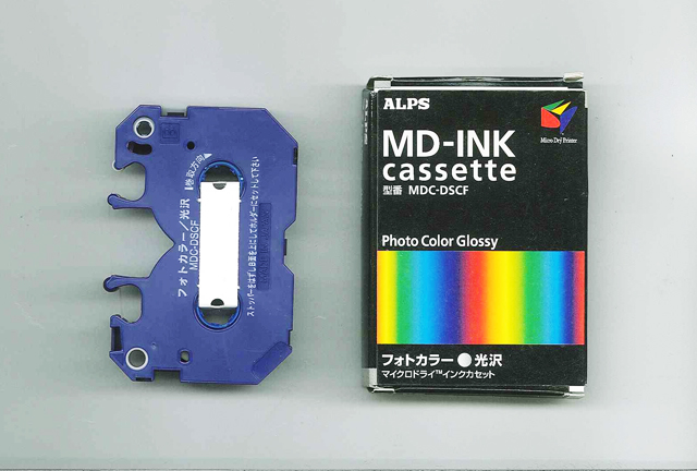 MDC-DSCF Alps Photo Color Finish - Gloss MicroDry (MD) Ink Cartridge
