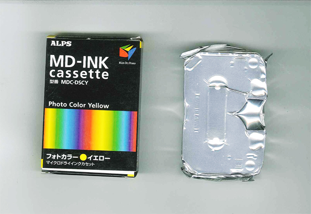 MDC-DSCY Alps Photo Color Ink - Yellow MicroDry Ink Cartridge