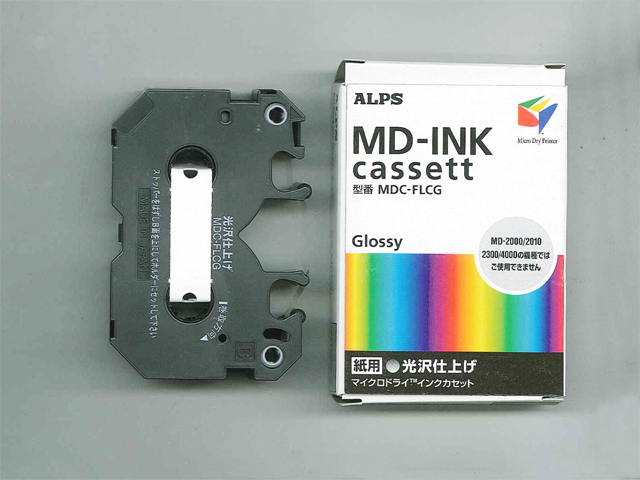 MDC-FLCG Alps Glossy Finish MicroDry (MD) Ink Cartridge