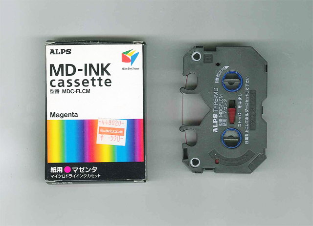MDC-FLCM Alps Magenta MicroDry (MD) Ink Cartridge