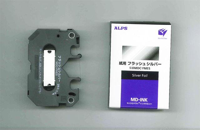 MDC-FMES Alps Silver Foil MicroDry (MD) Ink Cartridge