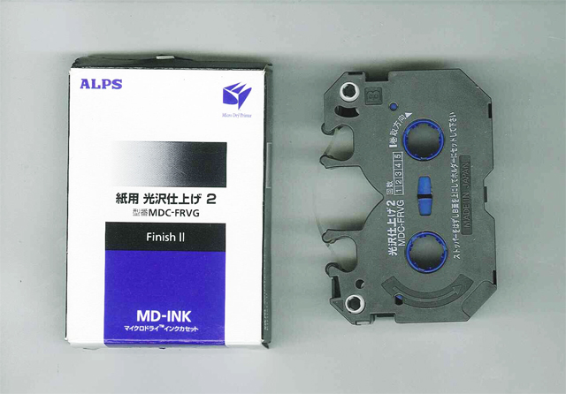 MDC-FRVG Alps Finish II MicroDry (MD) Ink Cartridge