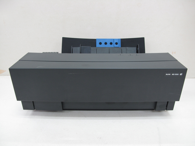 Low Band Count Alps MD5000 Thermal Printer with English Windows 98/XP Driver X9C0573H band count 14955