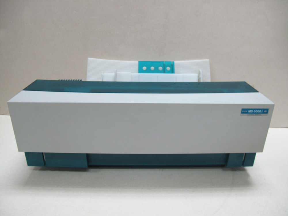 Low Band Count Alps MD5000i Thermal Printer with English Windows 98/XP Driver Y39D0107H band count 29454